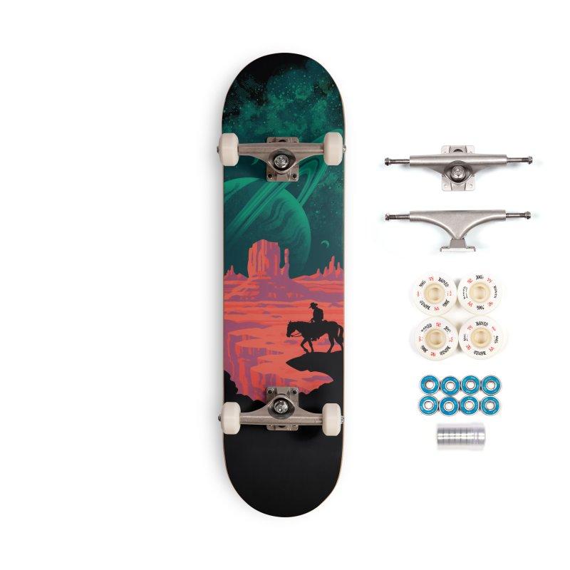 Final Frontiersman Accessories Complete - Premium Skateboard by Waynem