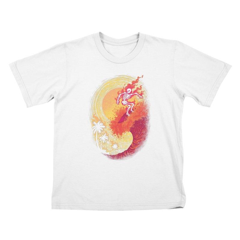 Heat Wave II Kids T-shirt by Waynem