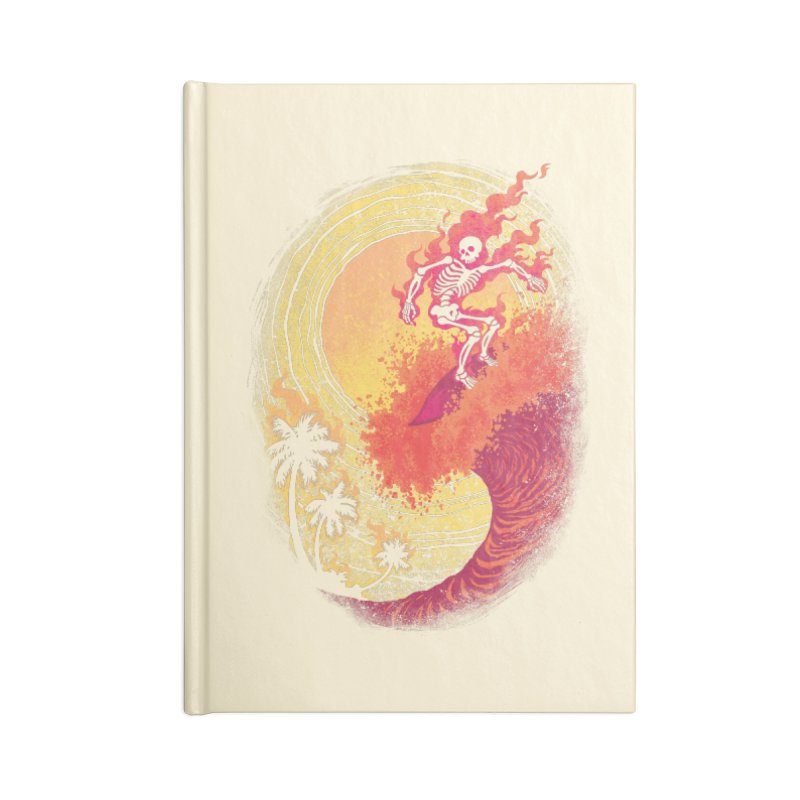 Heat Wave II Accessories Notebook by Waynem