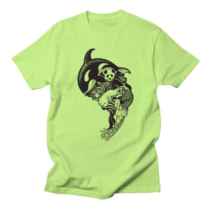 Monochromanimal Women's Unisex T-Shirt by Waynem