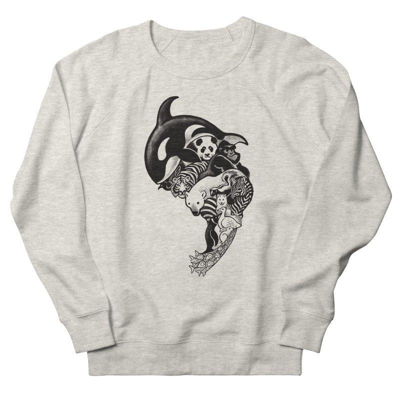 Monochromanimal Men's Sweatshirt by Waynem