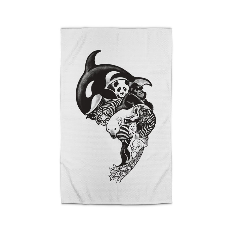 Monochromanimal Home Rug by Waynem