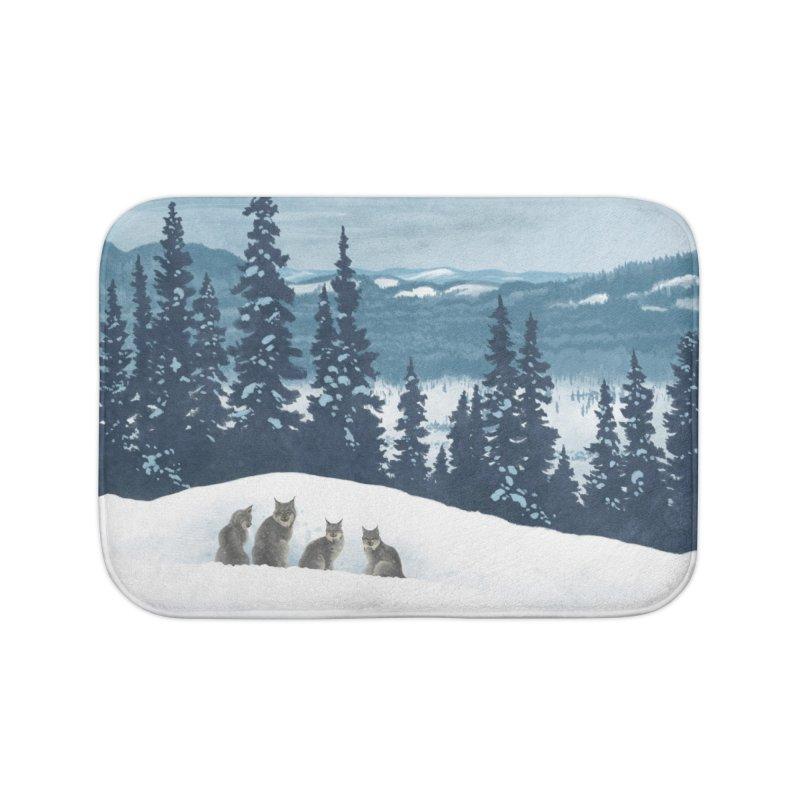 Frozen North Home Bath Mat by Waynem