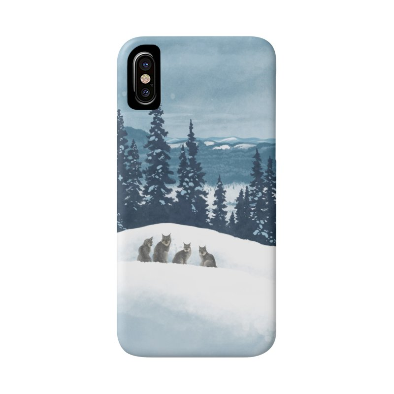 Frozen North Accessories Phone Case by Waynem