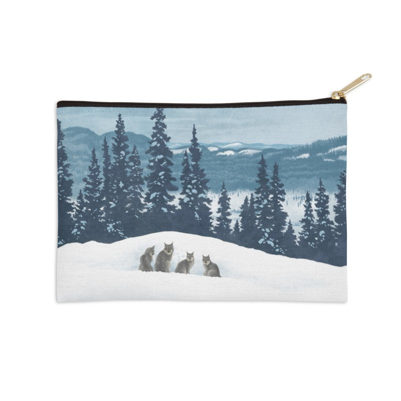 Frozen North Accessories Zip Pouch by Waynem