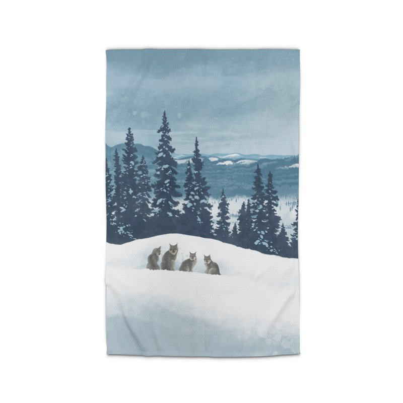 Frozen North Home Rug by Waynem