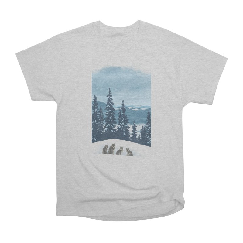 Frozen North Men's Classic T-Shirt by Waynem