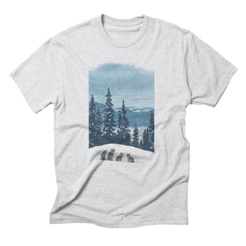 Frozen North Men's Triblend T-Shirt by Waynem