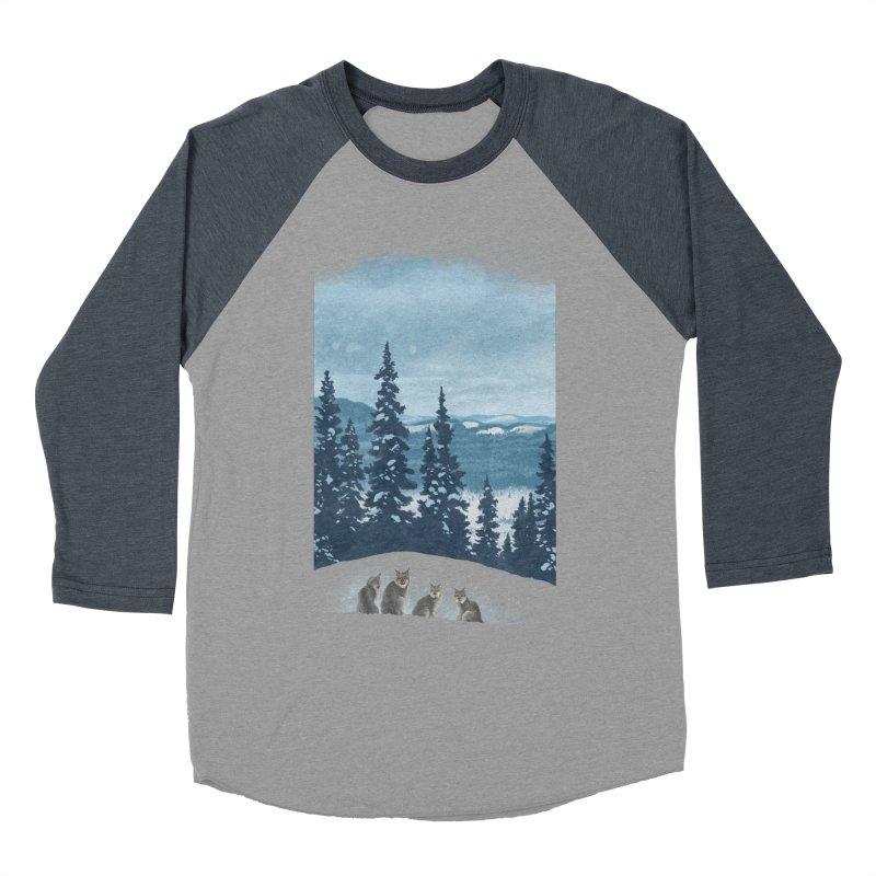Frozen North Men's Baseball Triblend T-Shirt by Waynem