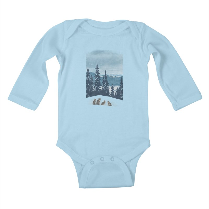 Frozen North Kids Baby Longsleeve Bodysuit by Waynem