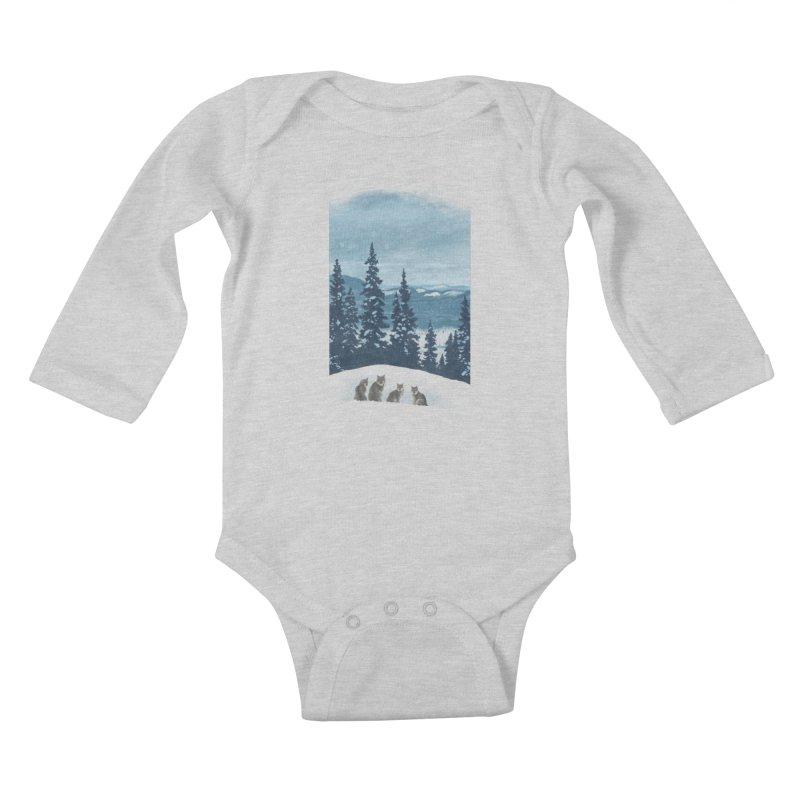 Frozen North Kids Baby Longsleeve Bodysuit by Waynem