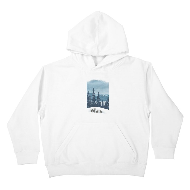 Frozen North Kids Pullover Hoody by Waynem