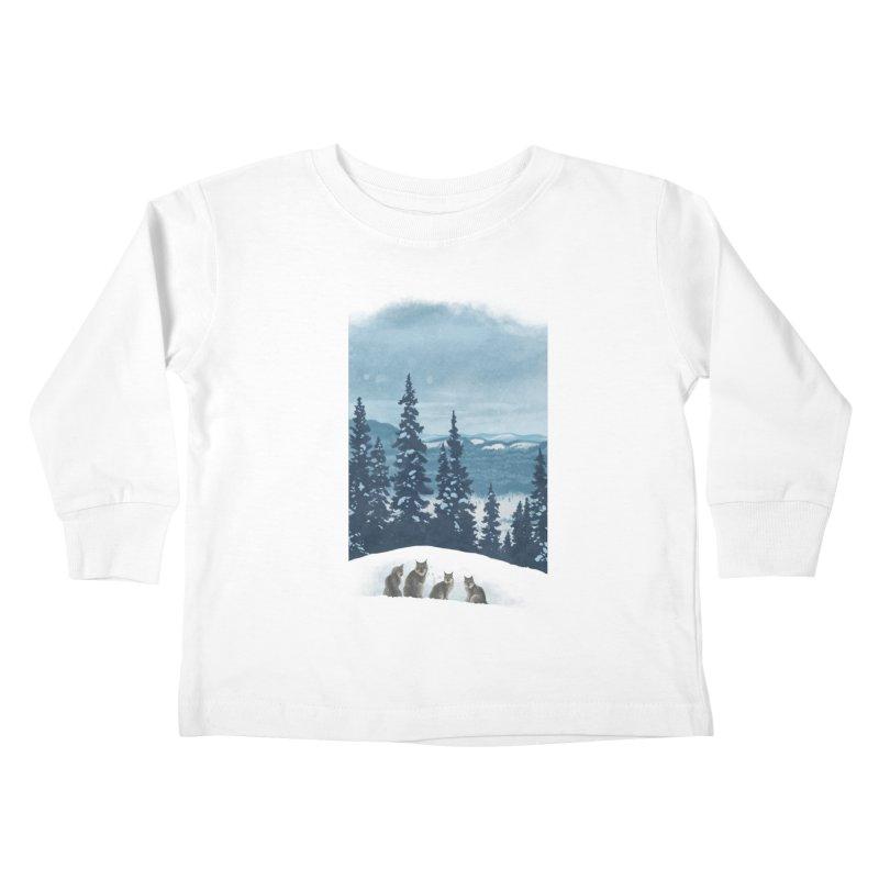 Frozen North Kids Toddler Longsleeve T-Shirt by Waynem