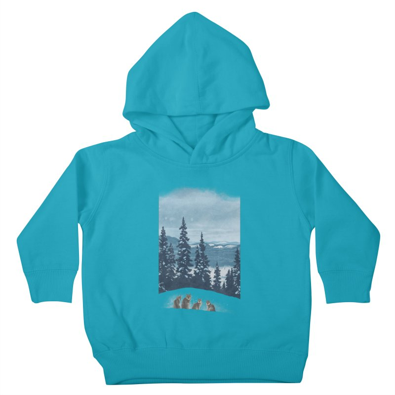 Frozen North Kids Toddler Pullover Hoody by Waynem