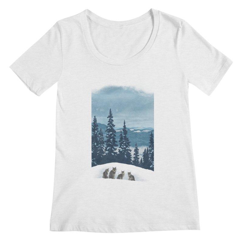 Frozen North Women's Scoopneck by Waynem