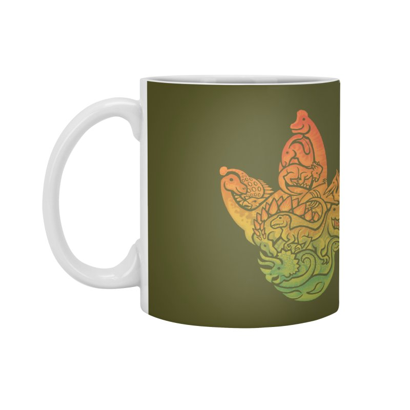 Prehistoric Print Accessories Mug by Waynem
