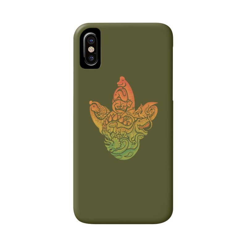 Prehistoric Print Accessories Phone Case by Waynem