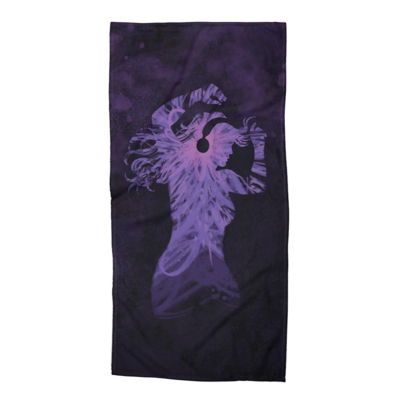 Filled with Music Accessories Beach Towel by Waynem