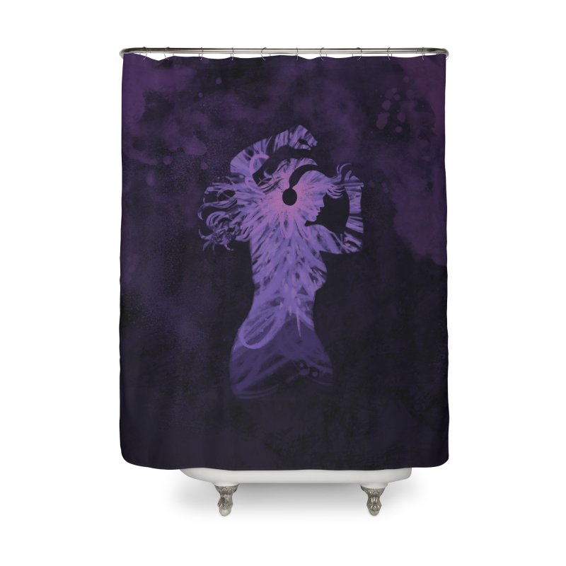 Filled with Music Home Shower Curtain by Waynem