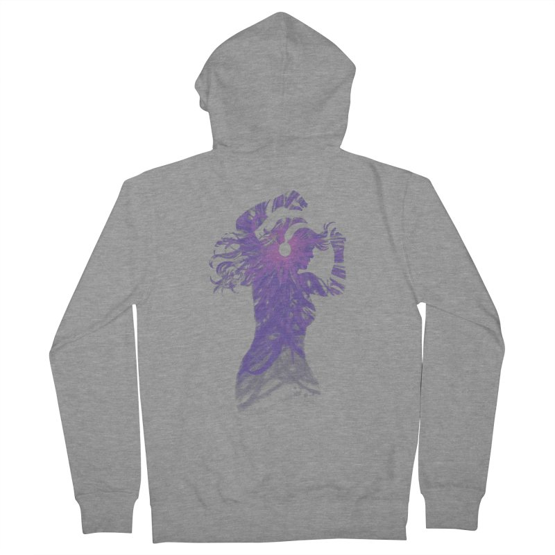 Filled with Music Women's Zip-Up Hoody by Waynem