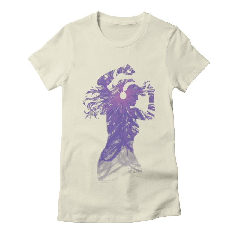 Filled with Music Women's Fitted T-Shirt by Waynem