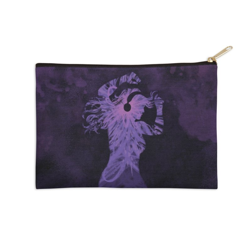 Filled with Music Accessories Zip Pouch by Waynem