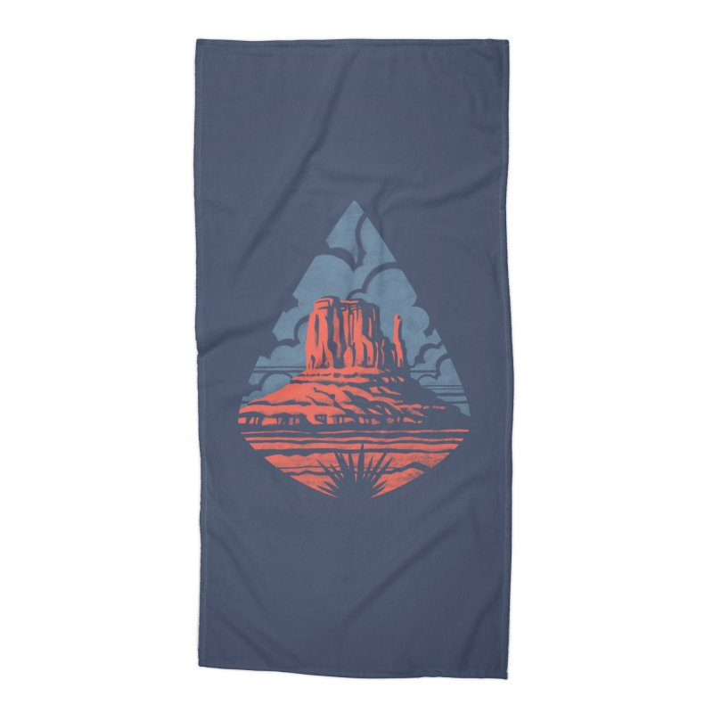 Monument Valley Accessories Beach Towel by Waynem