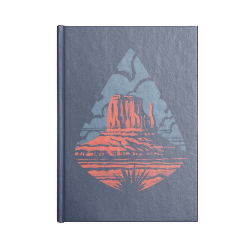 Monument Valley Accessories Notebook by Waynem