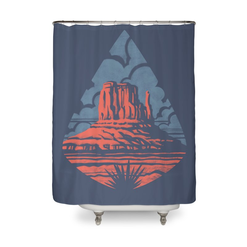 Monument Valley Home Shower Curtain by Waynem