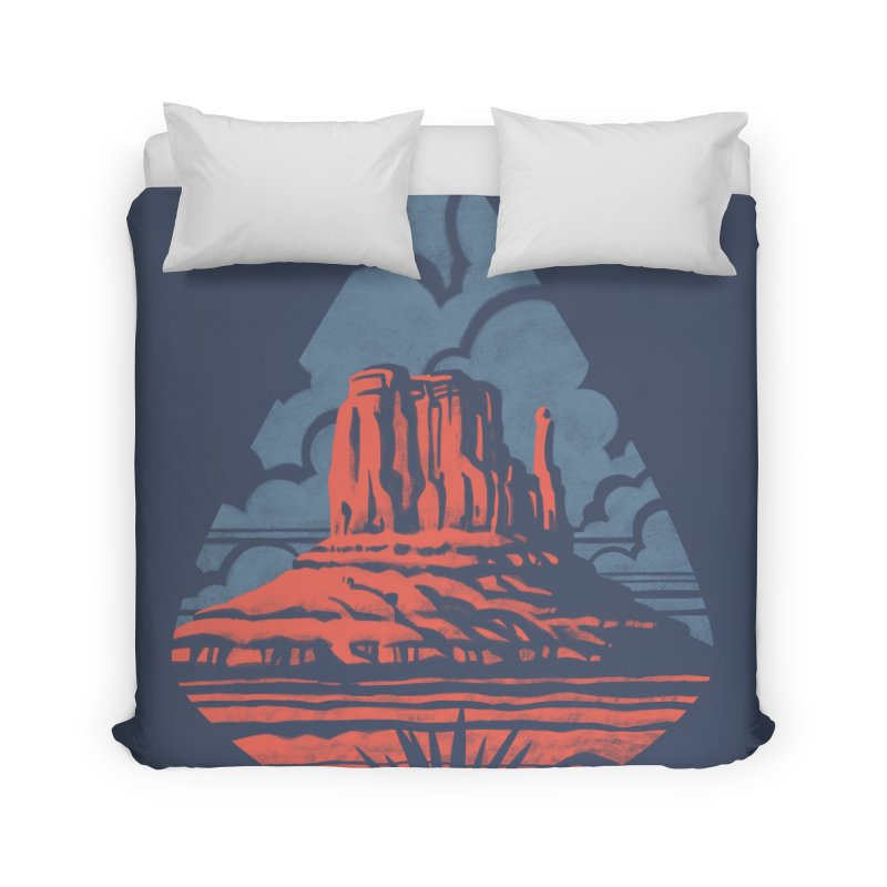 Monument Valley Home Duvet by Waynem