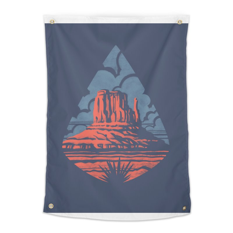 Monument Valley Home Tapestry by Waynem