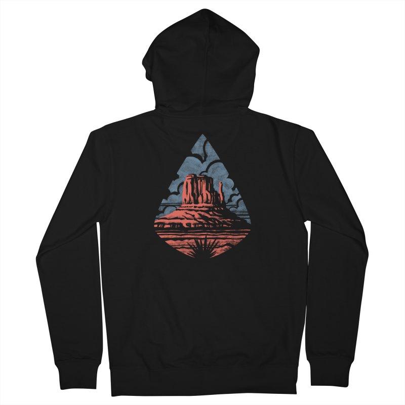 Monument Valley Men's Zip-Up Hoody by Waynem