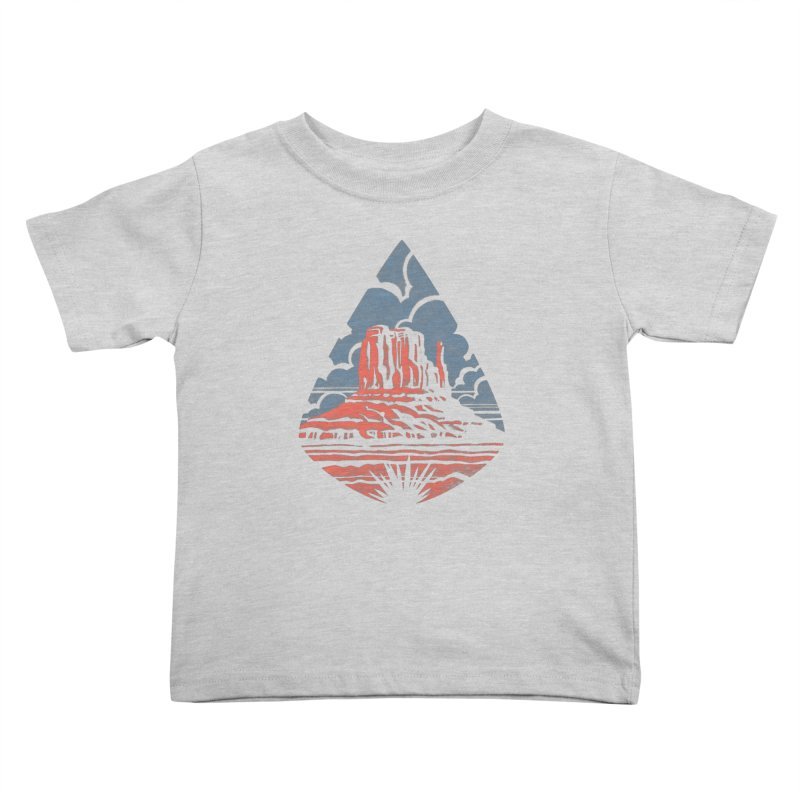 Monument Valley Kids Toddler T-Shirt by Waynem