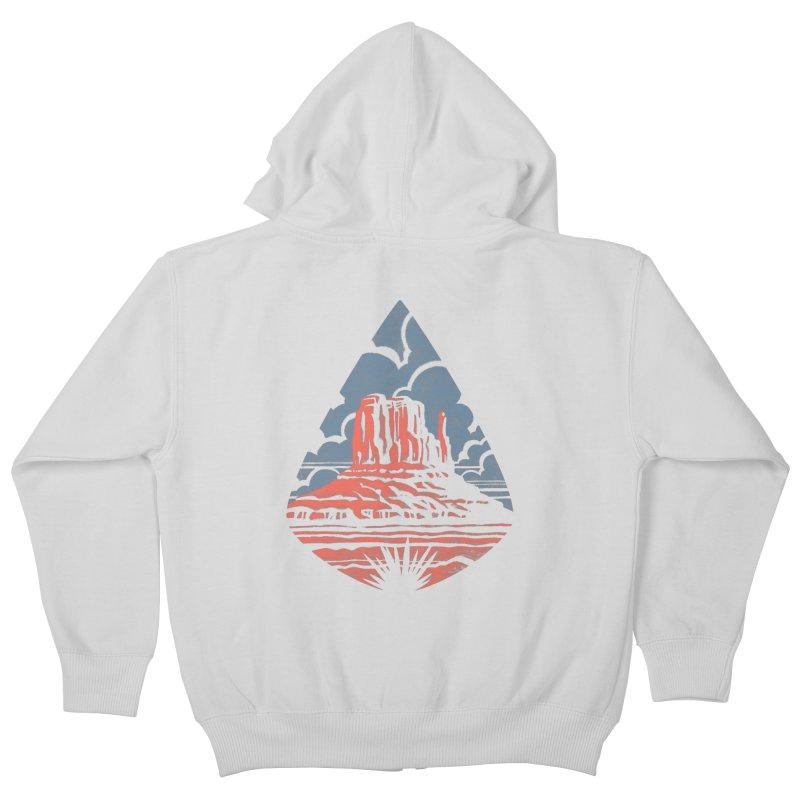 Monument Valley Kids Zip-Up Hoody by Waynem