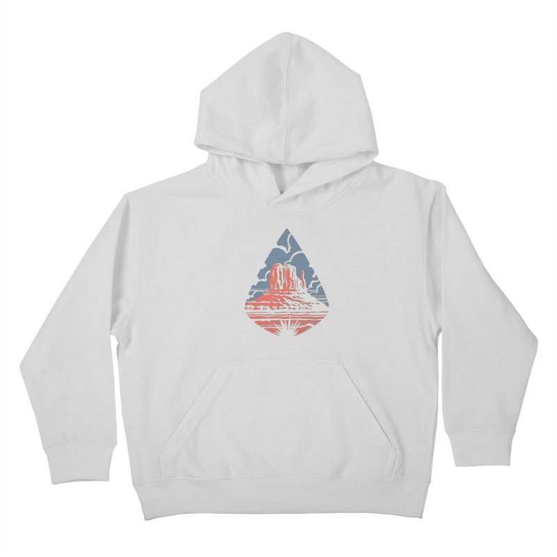 Monument Valley Kids Pullover Hoody by Waynem