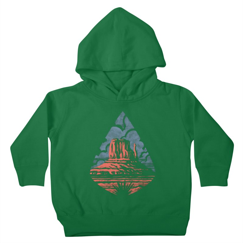 Monument Valley Kids Toddler Pullover Hoody by Waynem