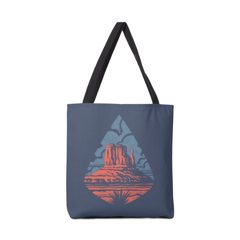 Monument Valley Accessories Bag by Waynem