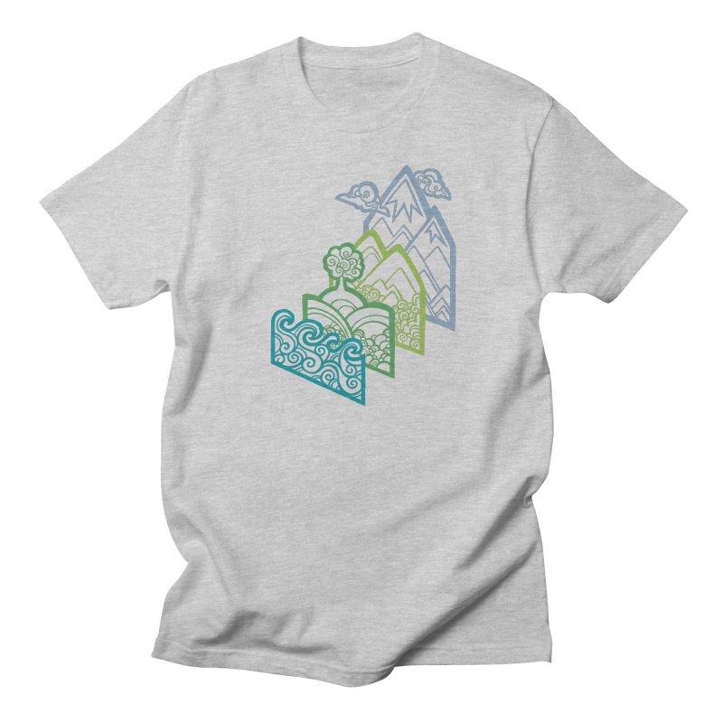 How to Build a Landscape (outline) Women's Unisex T-Shirt by Waynem