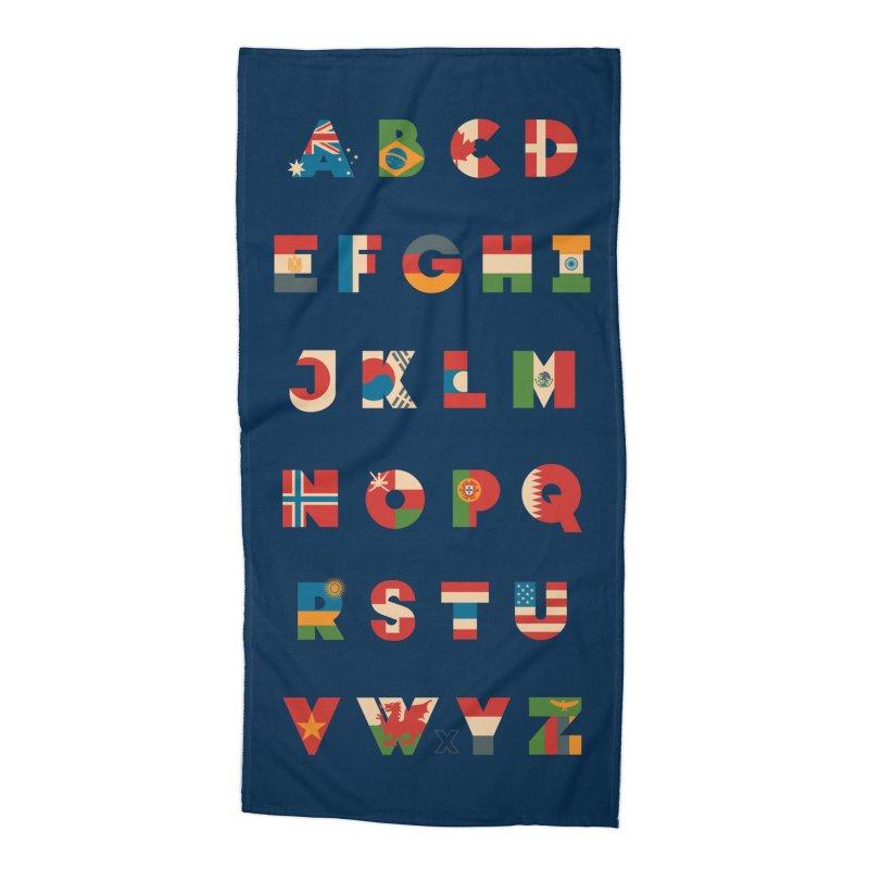 The Alflaget Accessories Beach Towel by Waynem