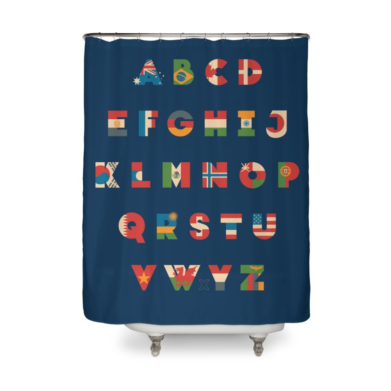 The Alflaget Home Shower Curtain by Waynem