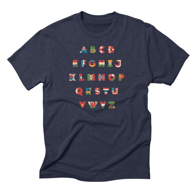 The Alflaget Men's Triblend T-Shirt by Waynem