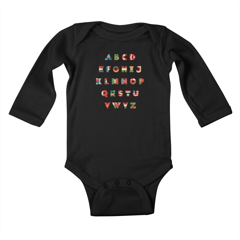 The Alflaget Kids Baby Longsleeve Bodysuit by Waynem
