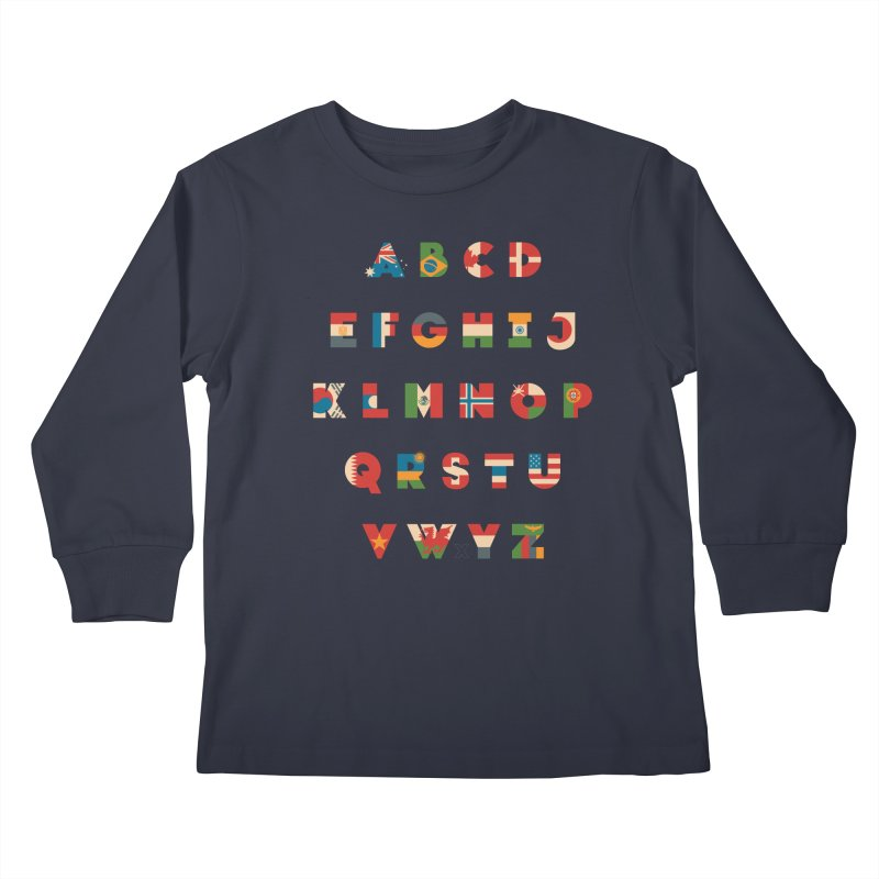 The Alflaget Kids Longsleeve T-Shirt by Waynem