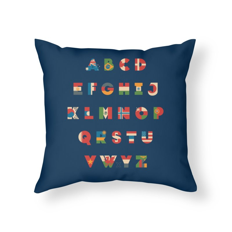 The Alflaget Home Throw Pillow by Waynem