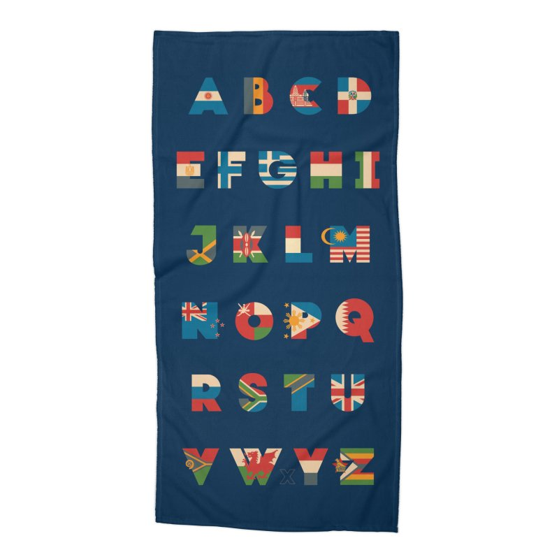 The Alflaget 2 Accessories Beach Towel by Waynem
