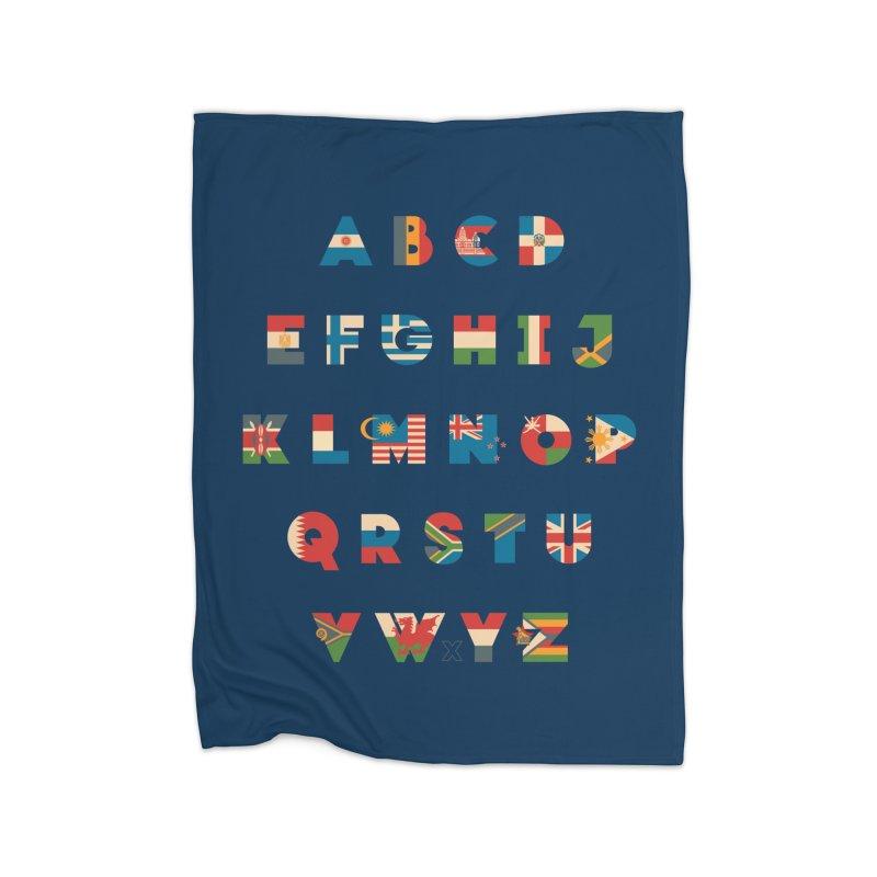 The Alflaget 2 Home Fleece Blanket by Waynem