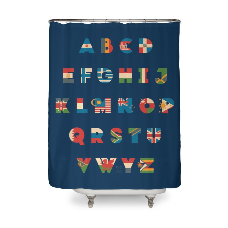 The Alflaget 2 Home Shower Curtain by Waynem