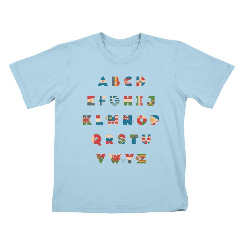 The Alflaget 2 Kids T-Shirt by Waynem