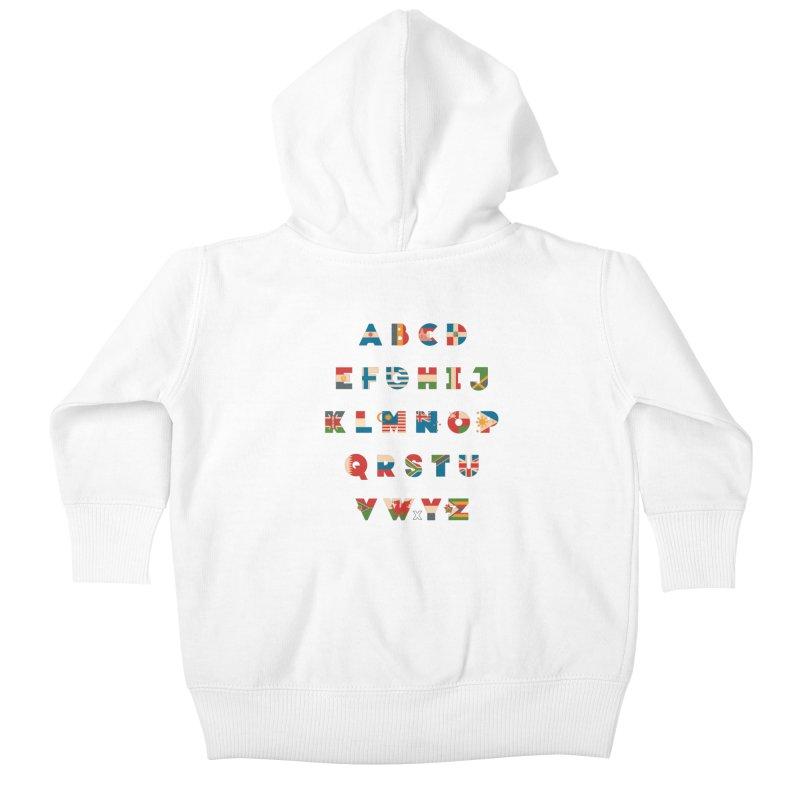 The Alflaget 2 Kids Baby Zip-Up Hoody by Waynem