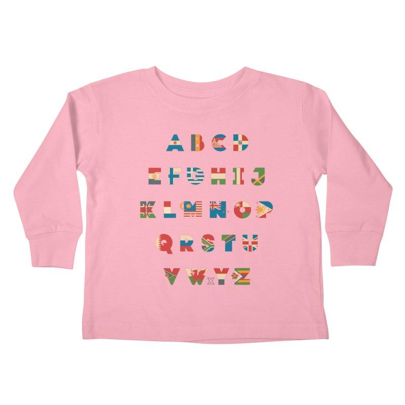 The Alflaget 2 Kids Toddler Longsleeve T-Shirt by Waynem